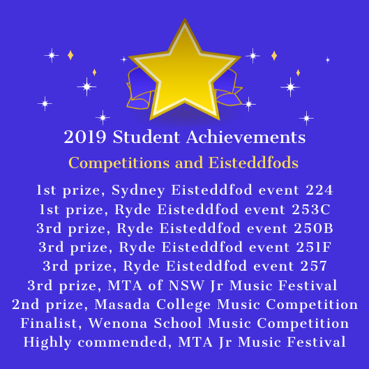 2019 Student Competitions