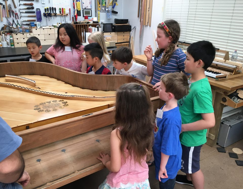 Discovering Inside a Piano